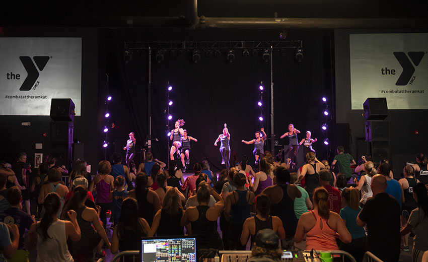 How to amaze members with a group fitness rock concert