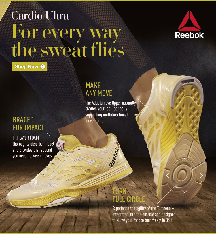 Cardio Ultra for Every Way The Sweat Flies